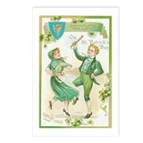 St Patric Dance Postcards (Package of 8)