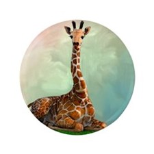 "Giraffe 3.5"" Button"