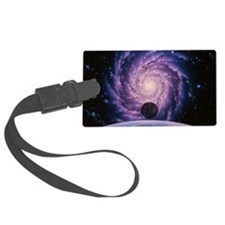 Milky Way galaxy Large Luggage Tag