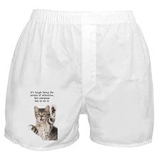 Snap Boxer Shorts