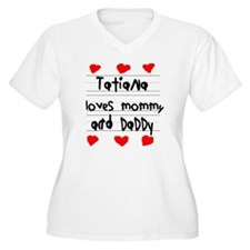 Tatiana Loves Mom T-Shirt