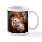 I didn't do it Orangutan Coffee Mug