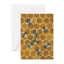 Honey Bee Greeting Cards