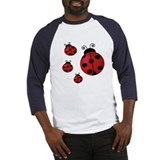 Four ladybugs Baseball Jersey