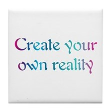 Create Your Own Reality Tile Coaster