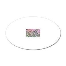Rat tongue, light micrograph 20x12 Oval Wall Decal
