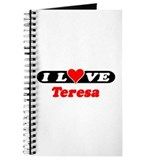 I Love Teresa Journal