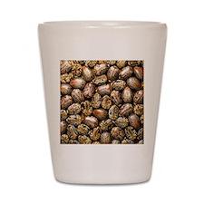 Seeds of the castor oil plant Shot Glass