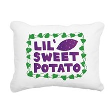 Lil Sweet Potato Rectangular Canvas Pillow