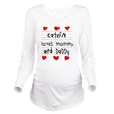 Katelin Loves Mommy  Long Sleeve Maternity T-Shirt