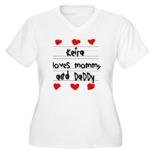 Keira Loves Mommy T-Shirt
