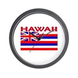 Hawaii Flag (Light) Wall Clock