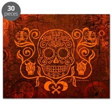 Day of the Dead Sugar Skull Puzzle