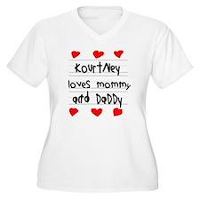 Kourtney Loves Mo T-Shirt