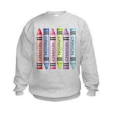 Six Crayons Sweatshirt