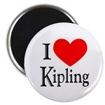 I Love Kipling Magnet