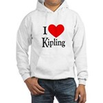 I Love Kipling Hooded Sweatshirt