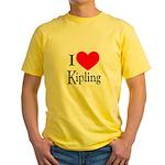 I Love Kipling Yellow T-Shirt