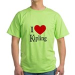 I Love Kipling Green T-Shirt