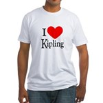 I Love Kipling Fitted T-Shirt