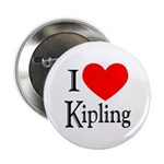 I Love Kipling Button