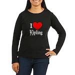 I Love Kipling Women's Long Sleeve Dark T-Shirt