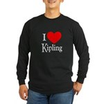 I Love Kipling Long Sleeve Dark T-Shirt
