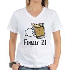 """Finally 21"" Birthday Shirt"
