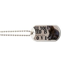 lb_car_flag_713_H_F Dog Tags