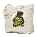Skeleton Halloween Candy Tote Bag