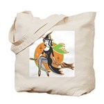 Halloween Candy Witch Tote Bag