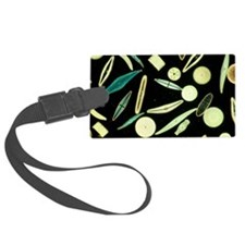 Light micrograph of assorted dia Luggage Tag
