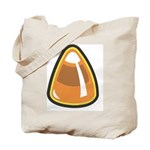 Candy Corn Halloween Candy Tote Bag