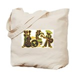 Swing Cats Halloween Candy Tote Bag