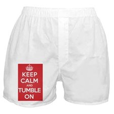 Keep Calm Tumble Boxer Shorts