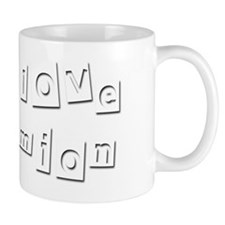 I Love Damion Small Mug