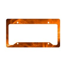 Solar coronal loops License Plate Holder