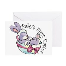 Baby's First Easter Bunny Greeting Cards (Package