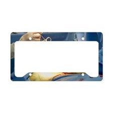 Spinal surgery License Plate Holder