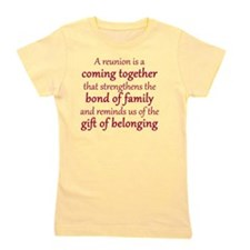 2013 Boone Family Reuinion Girl's Tee