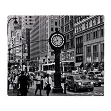 Fifth Ave - New York City Throw Blanket