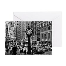 Fifth Ave - New York City Greeting Card