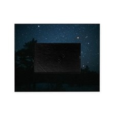 Starfield including Orion, Sirius Picture Frame