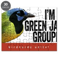 Green Jay Groupie Puzzle