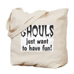 Ghouls Just Want to Have Fun Halloween Candy Bag