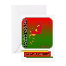 Carriacou Wear It Proud Greeting Card