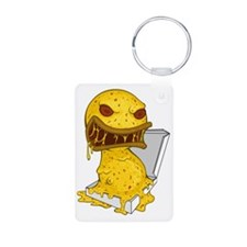 Pizza Monster Keychains