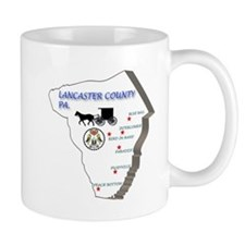 Lancaster County Pa. Coffee Mug