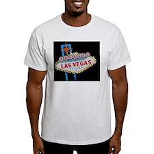 Engaged In Las Vegas Card T-Shirt