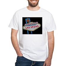 Engaged In Las Vegas Card Shirt